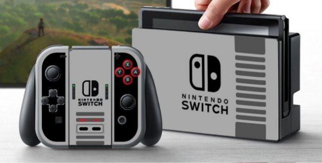 Nintendo_Switch_Skin_Custom_Vinyl_Wrap_Decal_Sticker_NES_Classic_1024x1024